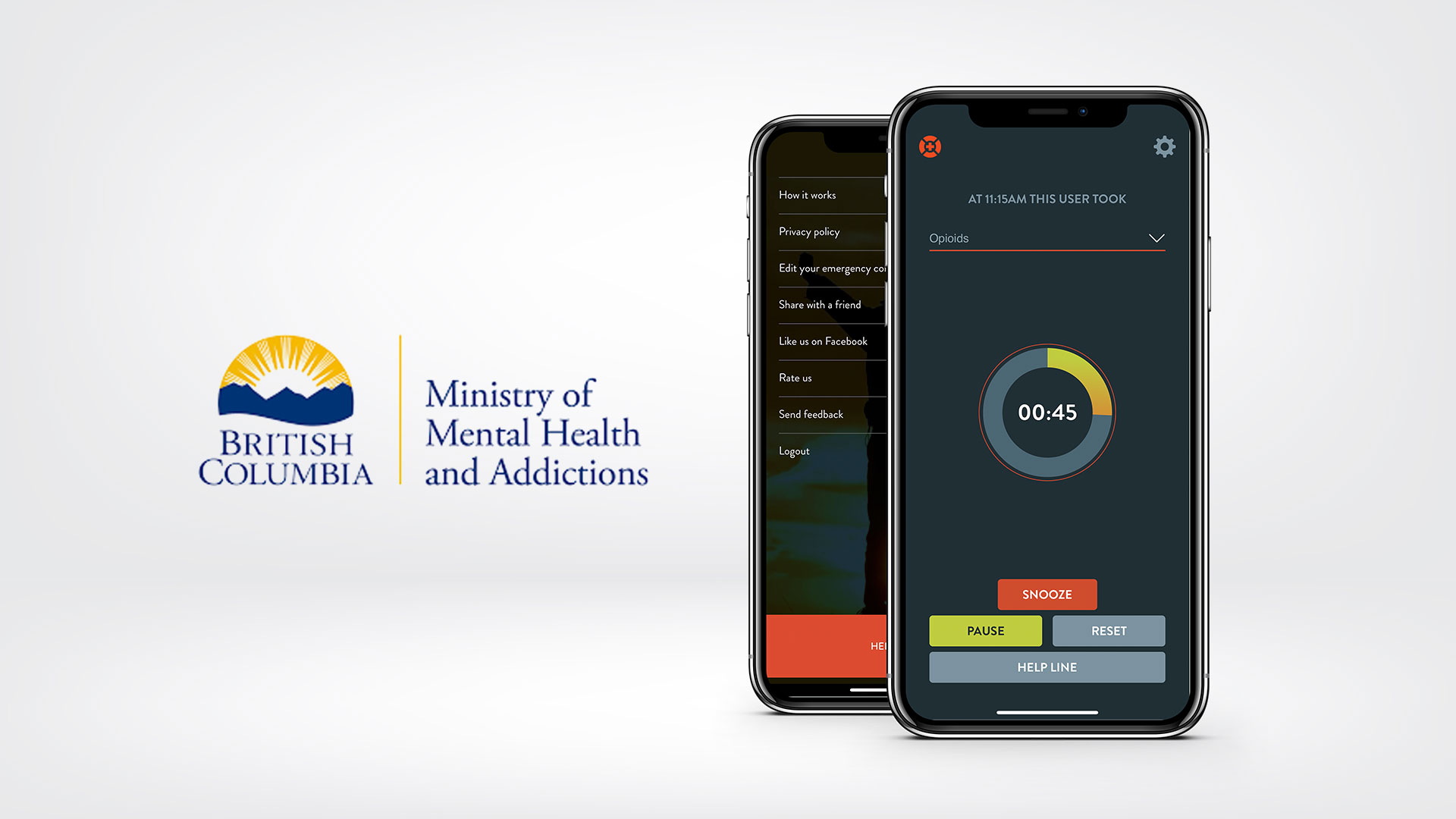 BC Ministry of Mental Health and Addictions Launching Lifeguard App