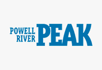 Powell River Peak Logo