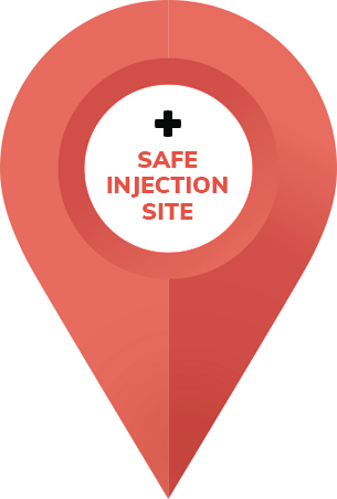 Pin - Safe Injection Site